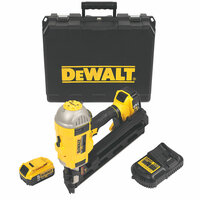 DeWalt DCN692P2 Brushless Cordless First Fix Framing Nailer Kit with 2 x 5.0Ah Batteries from Duotool