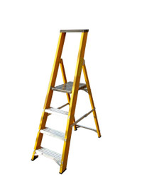 Lyte GFBP4 4 Tread Fibreglass Ladder from Duotool