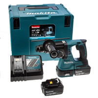 Makita DHR242RMJ 18V Brushless SDS Machine 2X 4.0Ah Batteries & Charger from Duotool