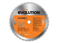 Evolution RAGE2 355mm Replacement Multi Purpose TCT Blade   Duotool