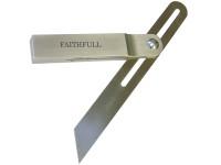 Faithfull Aluminium Sliding Bevel Stainless Steel Blade 250mm (10in)