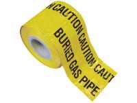 Faithfull Warning Tape 365m Gas
