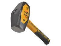 Roughneck Club Hammer Fibreglass Handle1.8kg (4lb)