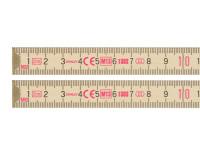 Stanley Tools Wooden Folding Rule 2 Metre