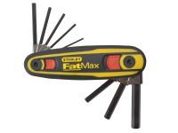 Stanley Tools FatMax Hexagon Key Locking Set of 9 (1.5- 8mm)