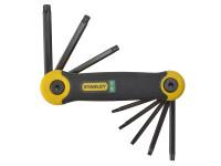 Stanley Tools Torx Key Folding Set of 8 (T9-T40)