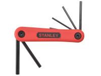Stanley Tools Hexagon Key Folding Set of 7 Metric (1.5-6mm)