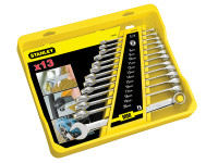 Stanley Tools FatMax Combination Spanner Set of 13 Metric 8 to 20mm
