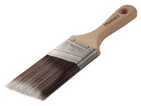 Stanley Tools Max Finish Advance Synthetic Stubby Paint Brush 50mm (2in)  Duotool