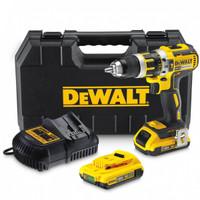 DeWalt DCD795D2 Compact Brushless Hammer Drill Driver 18 Volt 2 x 2.0Ah Li-Ion from Duotool.