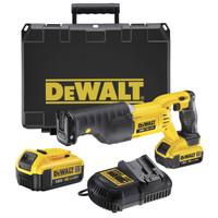 DeWalt DCS380M2 XR Premium Reciprocating Saw 18 Volt 2 x 4.0Ah Li-Ion from Duotool
