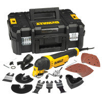 DeWalt DWE315KT Multi-Tool Quick Change Kit & TSTAK 300 Watt 240 Volt from Duotool