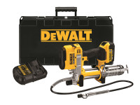 DeWalt Cordless XR Grease Gun 18 Volt 1 x 4.0Ah Li-Ion   Duotool