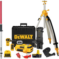 Dewalt DW079PKH Horizontal & Vertical Self Levelling Rotary Laser Kit from Duotool