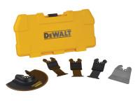 Dewalt DT20715 Multi-Tool Accessory Blade Set 5 Piece From Duotool