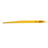 Dewalt Sabre Blade Fast Cuts Wood with Nails Plastics 305mm Pack of 5 from Duotool