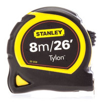 Stanley 130656N Pocket Tape 8m / 26ft 4 pack