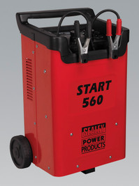 Sealey Starter/Charger 560/90Amp 12/24V 230V from Toolden.