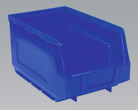 Sealey Plastic Storage Bin 148 x 240 x 128mm - Blue Pack of 38 from Toolden