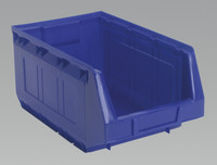 Sealey Plastic Storage Bin 209 x 356 x 164mm - Blue Pack of 20 from Toolden