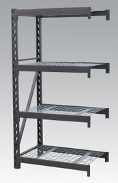 Sealey Heavy-Duty Racking Extension Pack with 4 Mesh Shelves 640kg Capacity Per Level from Toolden