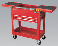 Sealey Mobile Tool & Parts Trolley - Red from Toolden