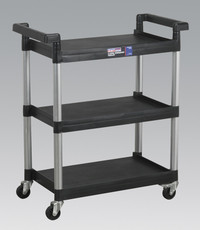 Sealey Workshop Trolley 3-Level from Toolden