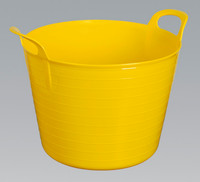 Sealey Heavy-Duty Flexi Tub 40ltr - Yellow from Toolden