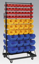 Sealey Mobile Bin Storage System 118 Bin from Toolden