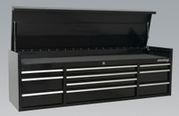 Sealey Topchest 10 Drawer 1830mm Heavy-Duty Black from Toolden