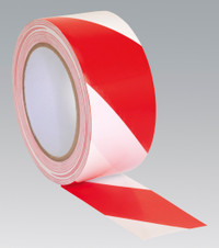 Sealey Hazard Warning Tape 50mm x 33mtr Red/White from Toolden