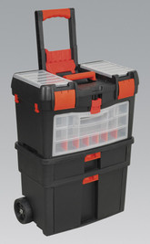 Sealey AP850 Mobile Tool Chest with Tote Tray & Removable Assortment Box from Duotool