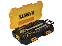 Stanley Tools DWMT73813 Tough Socket Set 23 Piece 1/2in Drive  Duotool