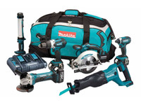 Makita DLX6044PT 6 Piece 18v Combo Kit LXT