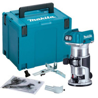 Makita DRT50ZJ 18v Brushless Cordless Router Body Only with MakPac Case