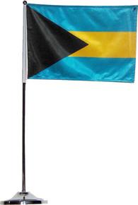 Bahamas Standing Flag