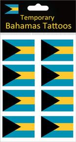 Bahamas Flag Tattoos