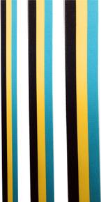 Tri-Colour Grosgrain Ribbon