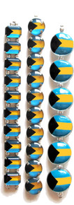 Bahamas Flag Beads
