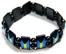 Bahamas Flag Bracelet