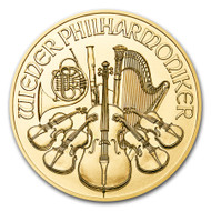 2017 Austrian Philharmonic 1 oz Gold Coin