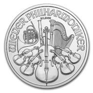 2016 Austrian Philharmonic 1 oz Silver Coin
