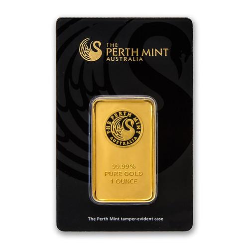 Australian Kangaroo 1 oz Gold Bar (In Assay)