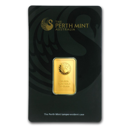 Australian Kangaroo 10 gram Gold Bar (In Assay)