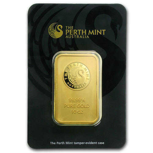 Australian Kangaroo 10 oz Gold Bar (In Assay)
