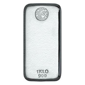 Perth Mint 1 kilo Silver Bar