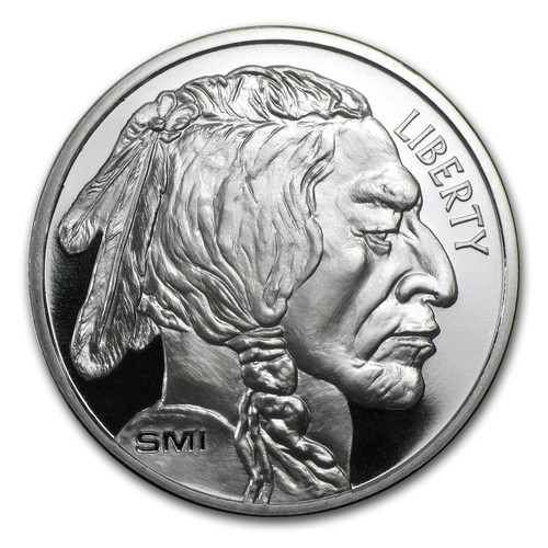 Sunshine Mint Buffalo 1 oz Silver Round