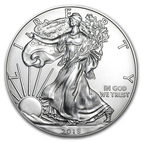 2018 American Eagle 1 oz Silver Coin