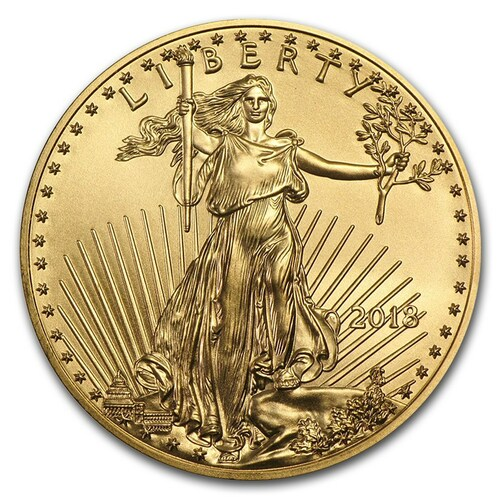 2018 American Eagle 1 oz Gold Coin