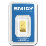 Sunshine Mint 1 gram Gold Bar (In TEP Packaging)